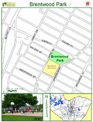 Brentwood Park Map