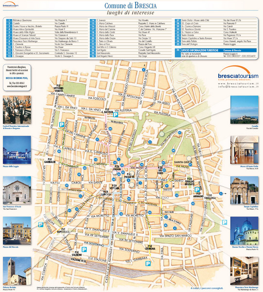 real life map collection mappery – Florence Italy Tourist Map