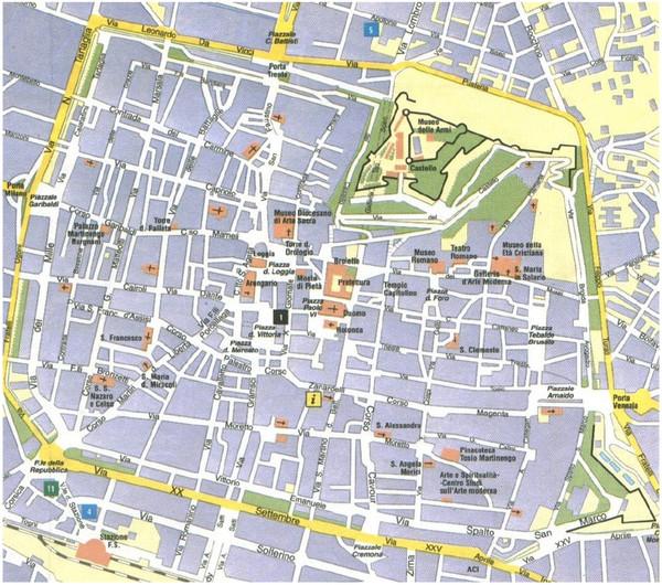 Cremona Map cremona it mappery