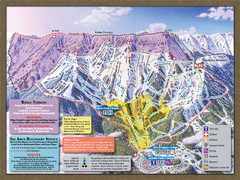 Bridger Bowl Ski Area Ski Trail Map