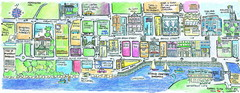 Bridgetown Tourist Map