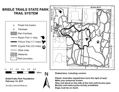 Bridle Trails State Park Map