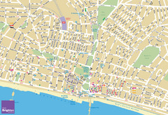 Brighton Tourist Map