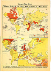 British Empire History Map