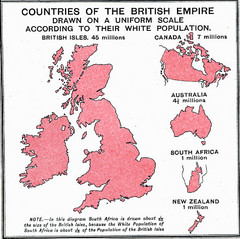 British Empire by Population Map