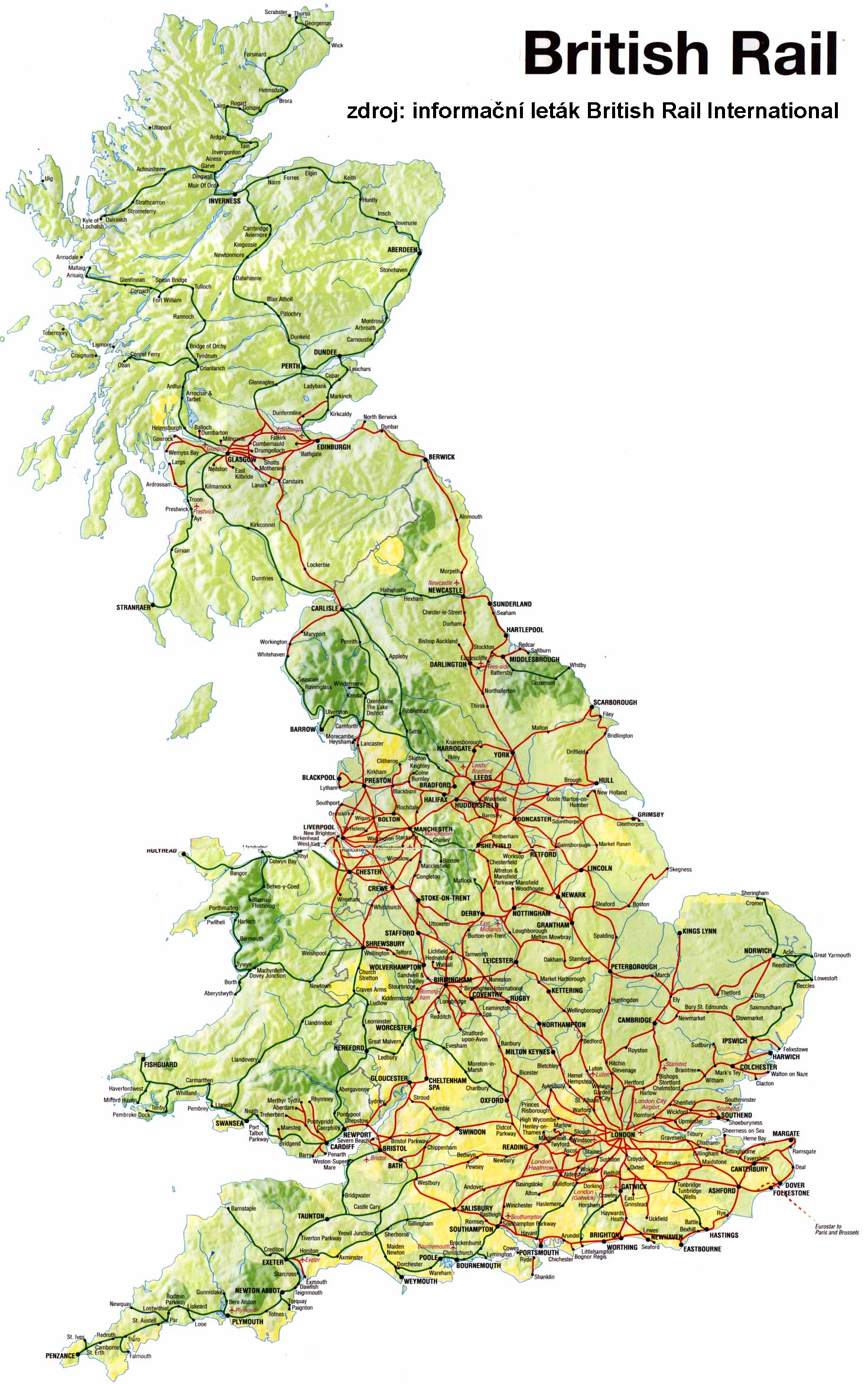 British rail map see map details from mapoftheunitedstates files