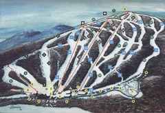 Brodie Ski Trail Map