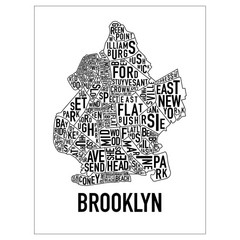 Brooklyn Neighborhood Art Map