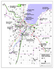 Brown County Parks Map