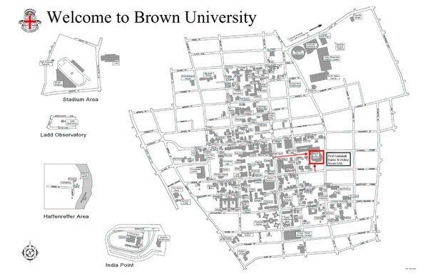 Brown University Map