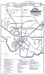 Brownsville Tourist Map
