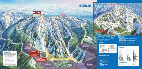 Brundage Ski Trail Map