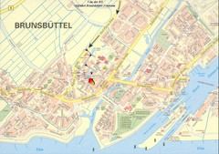Brunsbüttel Map