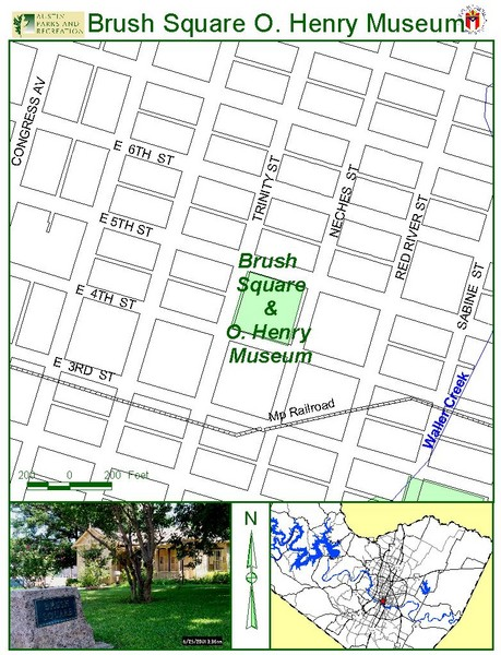 Brush Square Park Map