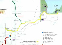 Buck Creek Trail Map