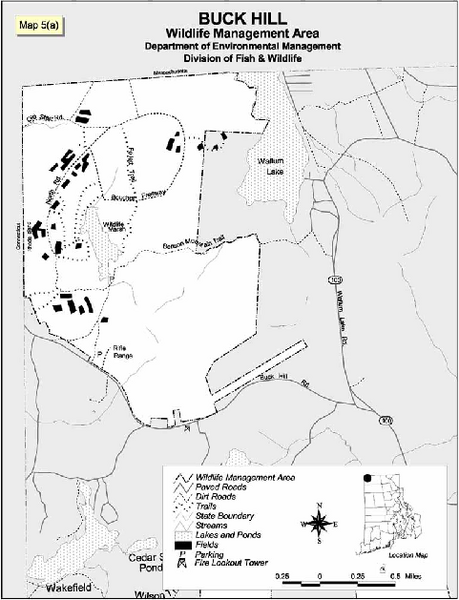 Buck Hill Wildlife Management Area Map