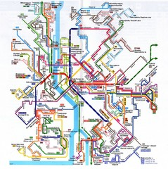 Budapest Public Transportation Map