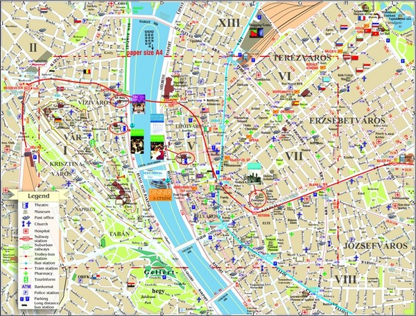 real life map collection mappery – Vienna Tourist Map Printable