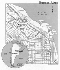 Buenos Aires City Map