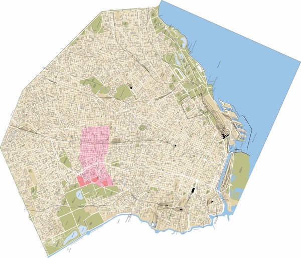 Tangol Buenos Aires Tourist Map Buenos Aires mappery – Buenos Aires Tourist Map