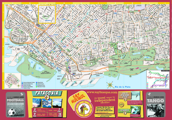 Buenos Aires Tourist Map