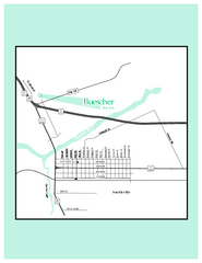 Buescher, Texas State Park Map