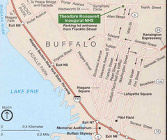 Buffalo, New York City Map