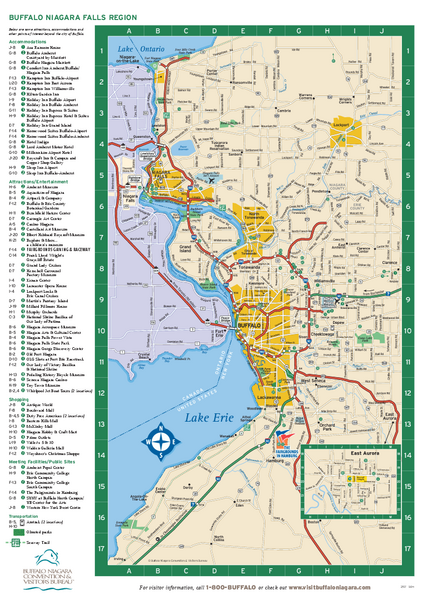 fullsize buffalo new york map