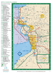 Buffalo, New York Map