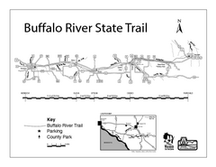 Buffalo River State Trail Map