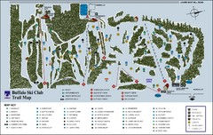 Buffalo Ski Club Trail Map