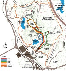 Bukit Timah Nature Reserve Map