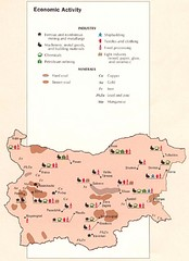 Bulgaria Economic Activity Map