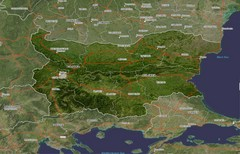 Bulgaria Satellite Map