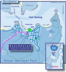 Bundeena Tourist Map