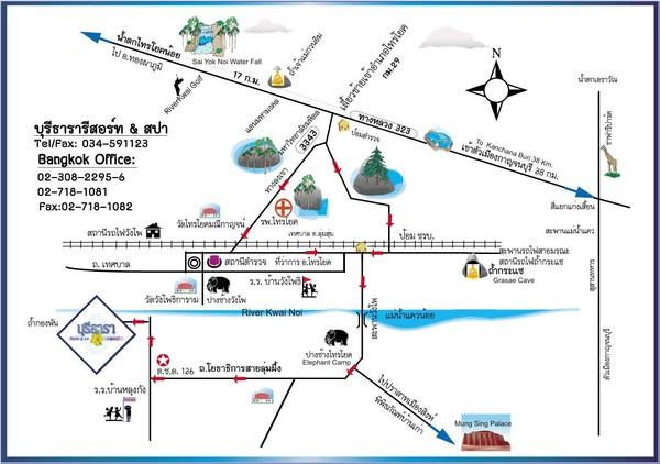 Ao Nang Tourist Map Ao Nang mappery