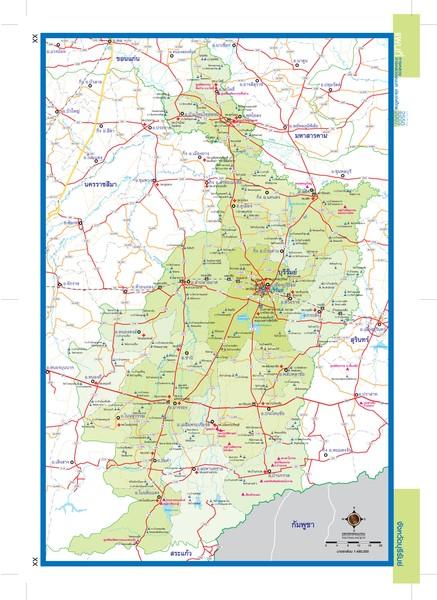 Buriram Thailand Map   buriram thailand • mappery