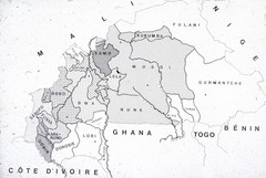 Burkina Faso Ethnic Map