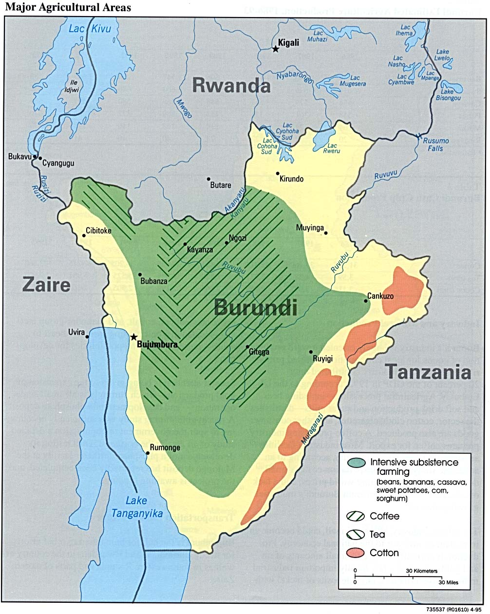 Where Is Burundi On A Map Of Africa Images Large Detailed - Where is burundi
