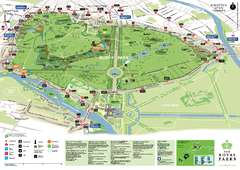 Bushy Park Map