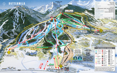 Buttermilk Mountain Ski Trail Map