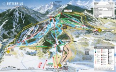 Buttermilk Ski Trail Map