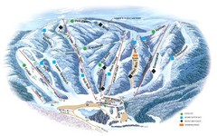 Butternut Ski Area Ski Trail Map