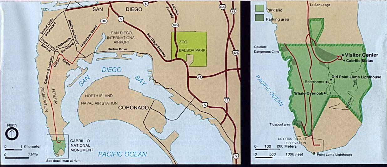 Cabrillo Map on