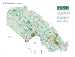 Cadboro Bay Area Map