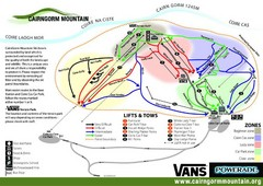 Cairn Gorm Ski Trail Map