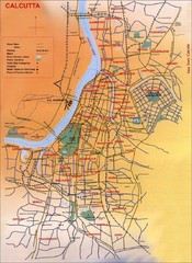 Calcutta City Map