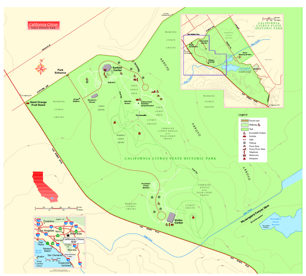 California Citrus State Park Map
