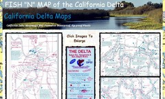 California Delta Maps Map