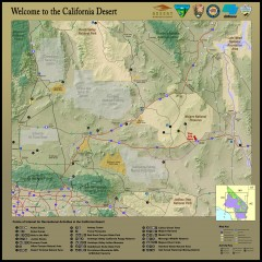 California Desert Recreation Map